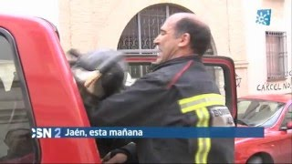 Un menor en estado grave víctima de un incendio en un piso de Jaén