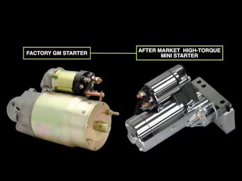 gm starter connections  american autowire