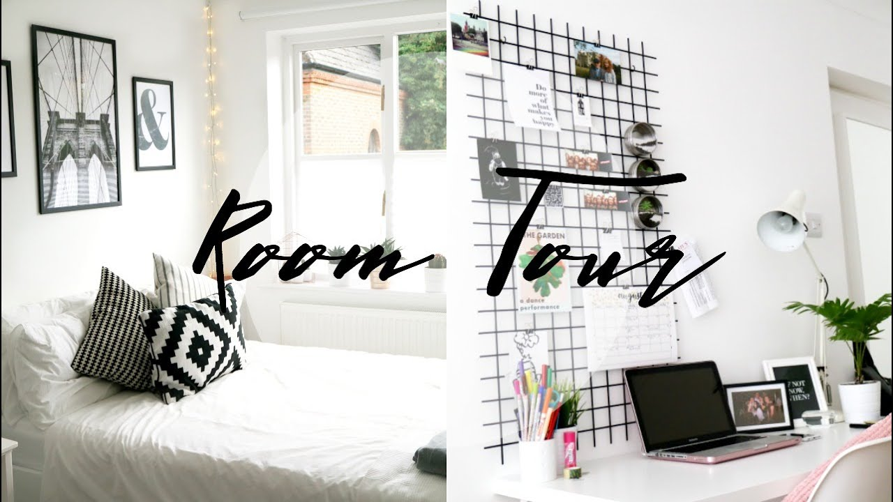 Room tour minimal simple amp monochrome mp3 mb for Minimalist bedroom tour
