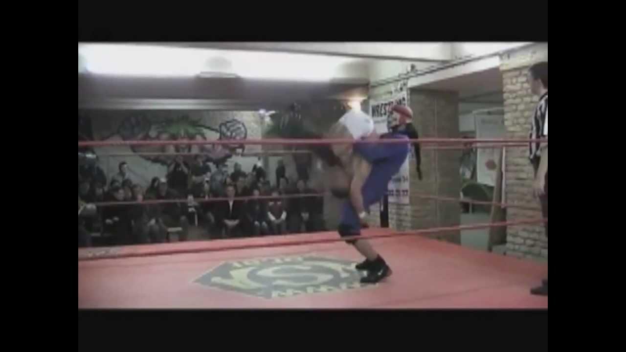 wsa ukwa wrestling a pex vs skull title fight wmv