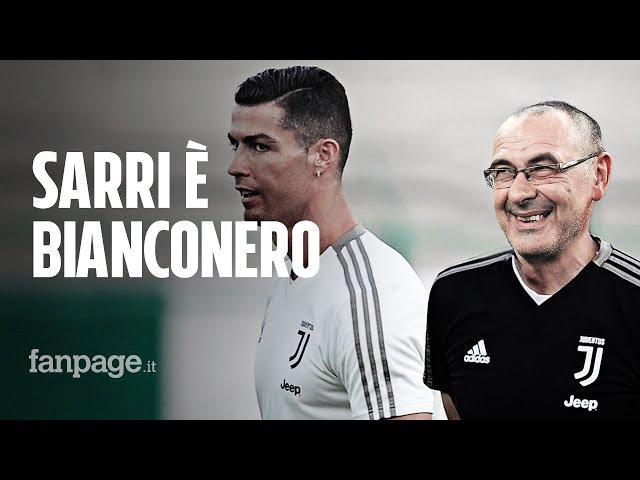 Ufficiale, Maurizio Sarri è il nuovo allenatore della Juventus