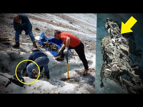 Thumbnail: 5 Mysterious Things Found Frozen In Ice!