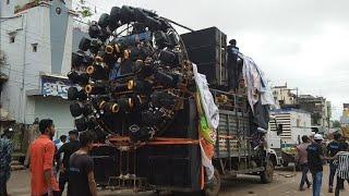 dj power zone | raipur jhaki | biggest DJ sound system