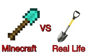 Minecraft vs Real Life: Part 2 - Shovel | IOS & Android Gameplay.