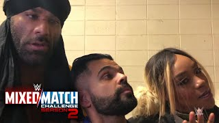 Mahalicia struggle to get on the same page for WWE Mixed Match Challenge Season 2