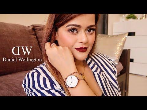 Quick Semi-Formal GRWM With My New Daniel Wellington Watch & Accessories