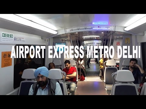 Airport Express Metro Delhi | Direct from T3 International Airport, Delhi to New Delhi Station