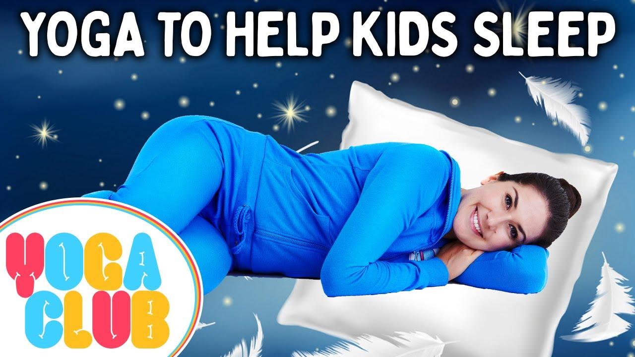 Yoga To Help Kids Sleep! 😴 Yoga Club (Week 60)   Cosmic Kids Yoga