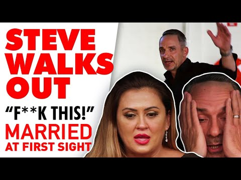 Steve Implodes After Mishel Airs Her Frustrations To The Group | MAFS 2020