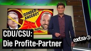 Lobbyismus in der CDU – Bundestagsmandat als Nebentätigkeit