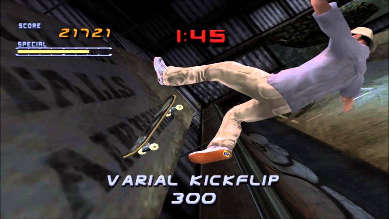 Demul 0 7A (Dreamcast Emulator) - Tony Hawk's Pro Skater 2 [1080p / 60 FPS]