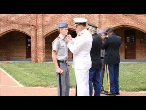 First Formation of the Fishburne Military School 2017-2018 Corps of Cadets