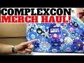 COMPLEXCON 2018 Entire Merch Haul!