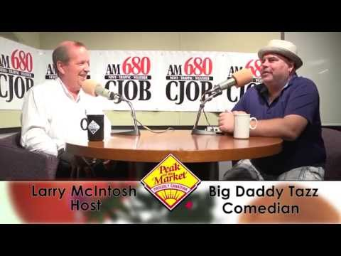 Food and Friends with Larry McIntosh & Big Daddy Tazz, Comedian