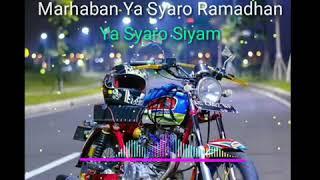 Download lagu Lirik • Marhaban ya Ramadhan - SKA Version (Song By. Haddad Alwi feat Anti) | feat CB Custom