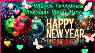 Happy New Year 2020 New Year Wishes Greetings Whats Aap Message Quotes WHY TV