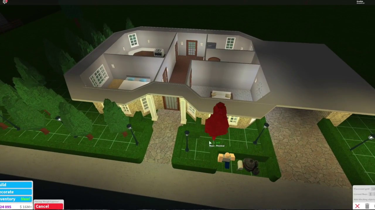 Awesome One Story Roblox Houses Slubne Suknie Info