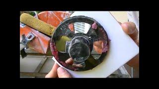 Tile Tricks 101 ( cutting circles shower valve & toilet  )