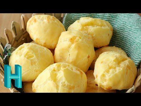 How to Make Pão de Queijo - Brazilian Cheese Bread   Hilah Cooking