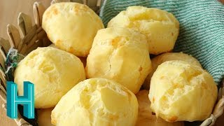 Baixar How to Make Pão de Queijo - Brazilian Cheese Bread |  Hilah Cooking