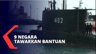 9 Negara Tawarkan Bantu Cari Kapal Selam KRI Nanggala 402