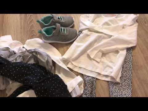 Покупки базовой одежды для садика в АШАНе