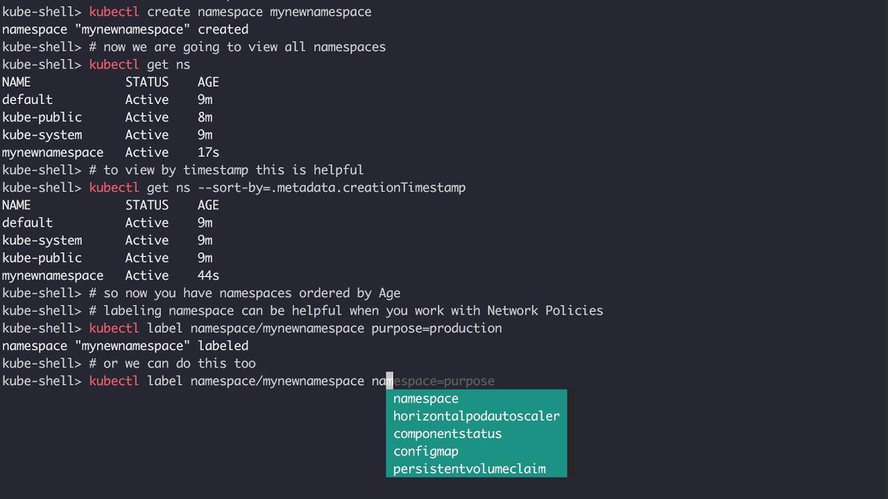 Kubernetes Namespaces Tutorial - YouTube