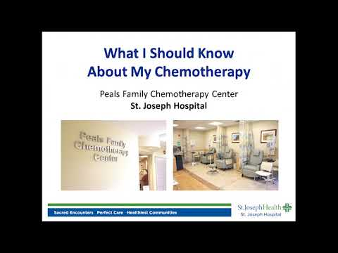 Peals Chemotherapy Center at St. Joseph Hospital Eureka