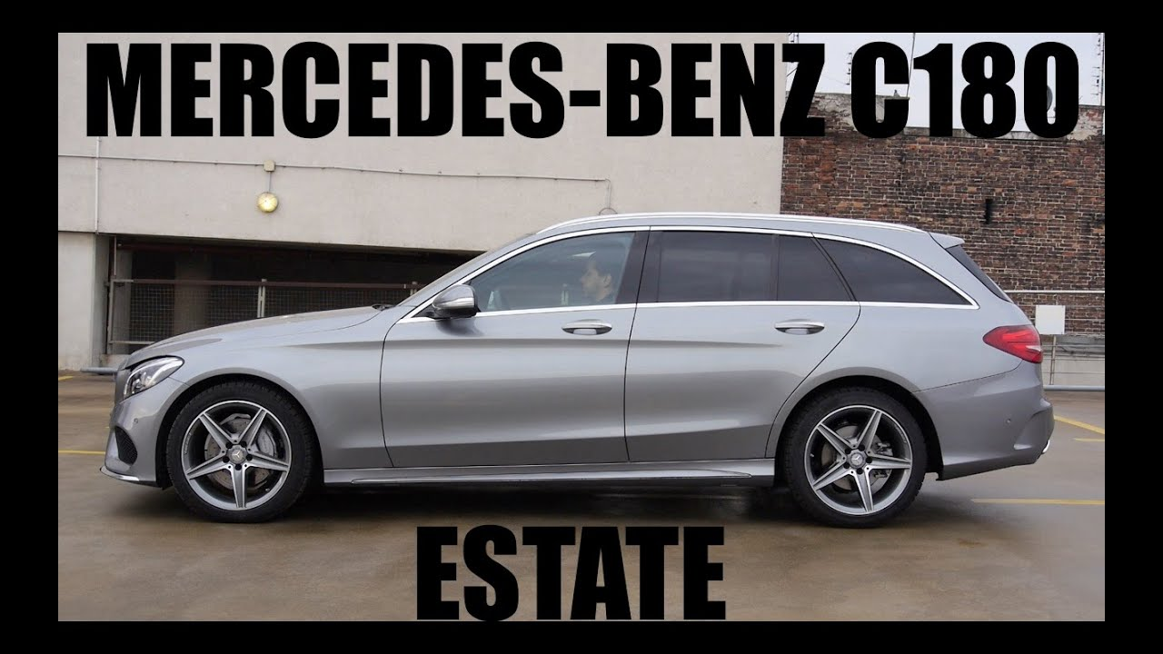 Eng Mercedes Benz C180 Estate Test Drive And Review