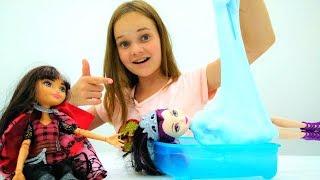 Зелье для игрушек - Кира и куклы Сириз и Рейвен Квин