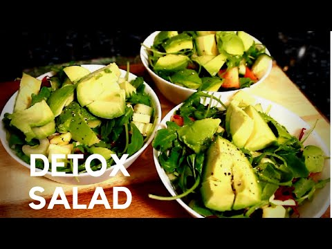 Eating Healthy Detox Salad and Lost Weight 3 EASY HEALTHY SALAD RECIPE ( 3 Time A Days ) thumbnail