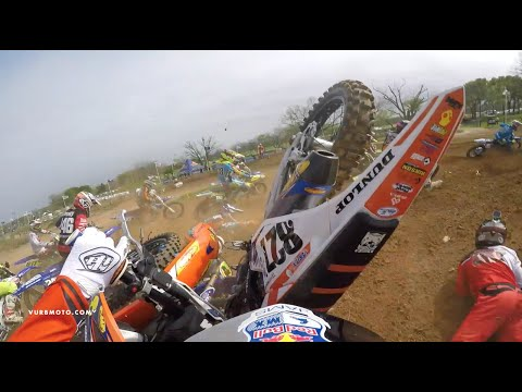Insane 250B Comeback on a 150 2-Stroke ft. Pierce Brown - vurbmoto