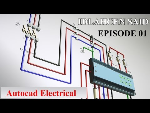 EP01 : Autocad Electrical ( Dessin & Conception ) installation et Configuration