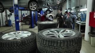 Что должны знать о переобувке автомобиля не только девочки(ТНТ-Нижневартовск. Официальная группа VKontakte: https://vk.com/tnt_nv Официальный твиттер-аккаунт: https://twitter.com/City_novosti., 2016-10-11T13:15:25.000Z)