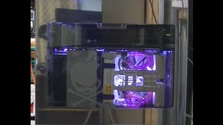 The best Apple G5 Quad in the world, hand polished. (G5 / Mac Pro casemod) PPC Debian Linux Server
