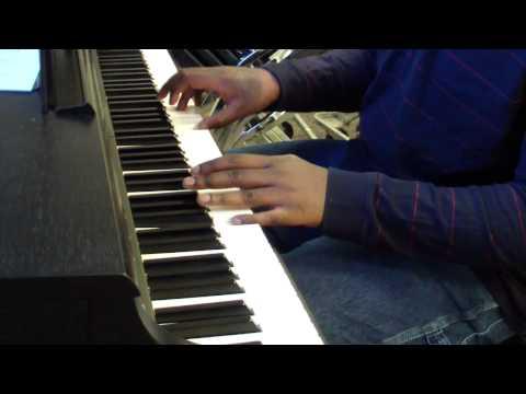 Charlotte Dipanda piano cover -elle n'a pas vu