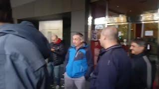 Sindicatos del Metal de Bizkaia acampan ante la patronal y convocan nuevas huelgas