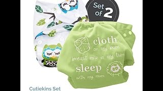 Baby Tooshy Cloth Diaper Covers with DOUBLE Gussets