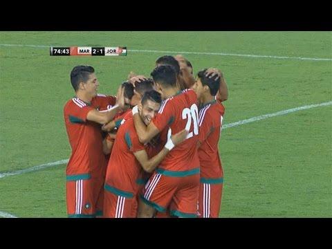 أهداف مباراة المغرب 2-1 الأردن | مباراة ودية 2016/10/10