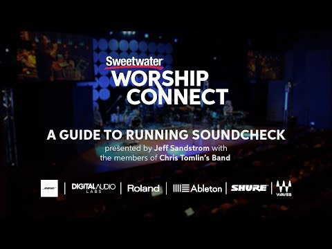 A Guide to Running Soundcheck