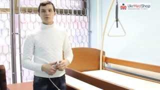 Видео-обзор функциональной кровати OSD Sofia Economy от интернет магазина Ukrmedshop.com.ua