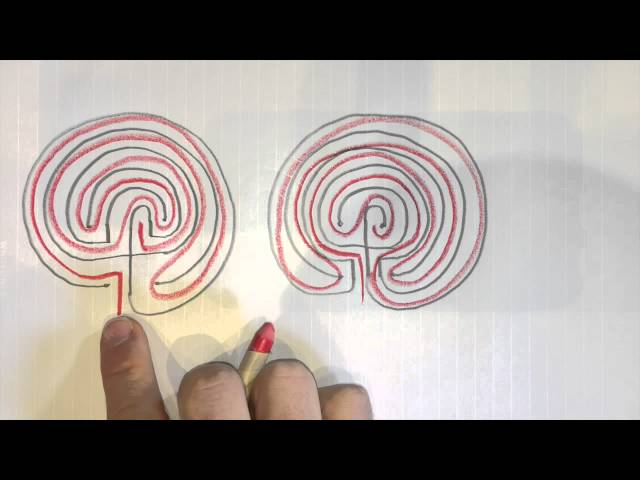 😮How to Draw True 3 & 5 Circuit Labyrinths