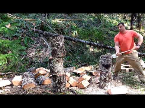 Basque Splitting Axe; My Favorite wood splitter.