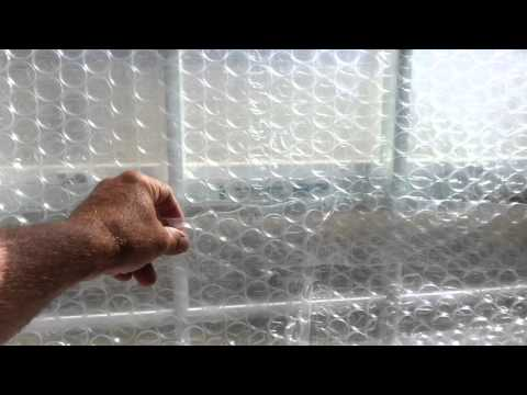 DIY - Do It Yourself How To Insulate Glass Windows - Home Glass Window Insulation