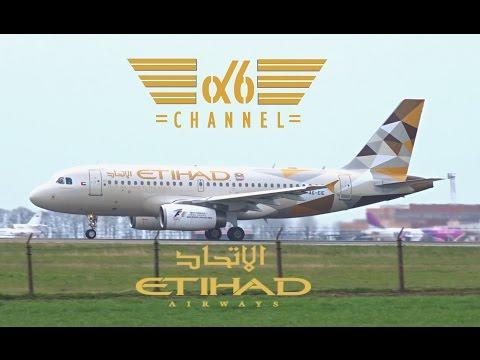 [1st visit in NEW LIVERY] ETIHAD Airways A319 |A6-EIE| Takeoff @ Belgrade Airport