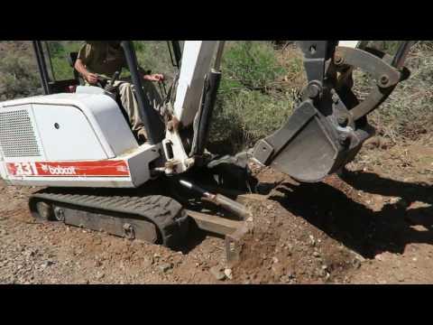 Arizona Gold Prospecting, Drywashing, Metal Detecting Part 1