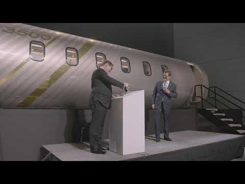 Challenger 3500 Launch Event
