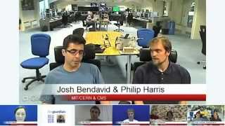 Higgs Boson live hangout -  CERN / The Guardian / The Science Museum / CERN People