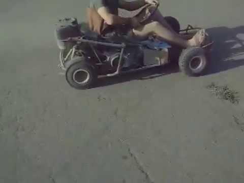 Картинг своими руками из скутера