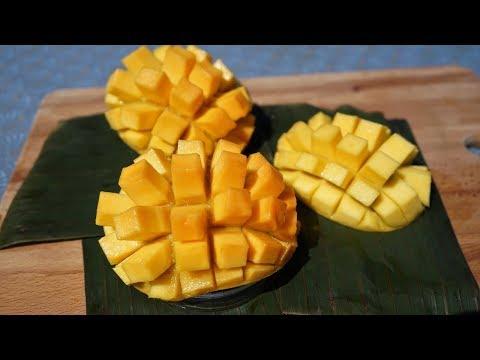 How to Beautifully Cut a Mango - Morgane Recipes